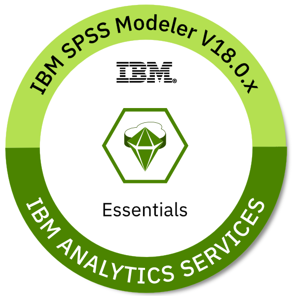 IBM SPSS Modeler V18.0.x Essentials