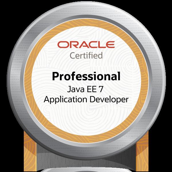 Oracle Certified Professional, Java EE 7 Application Developer