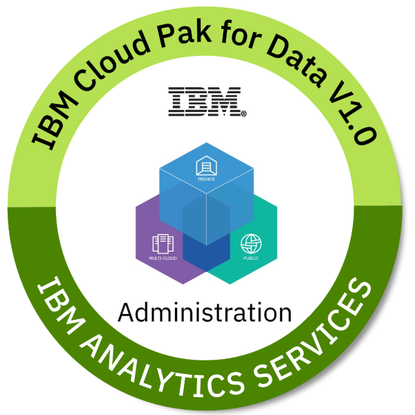 IBM Cloud Pak for Data V1.0 Administration