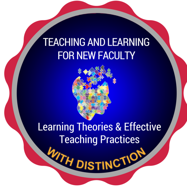 Learning Theories and Effective Teaching Practices with Distinction