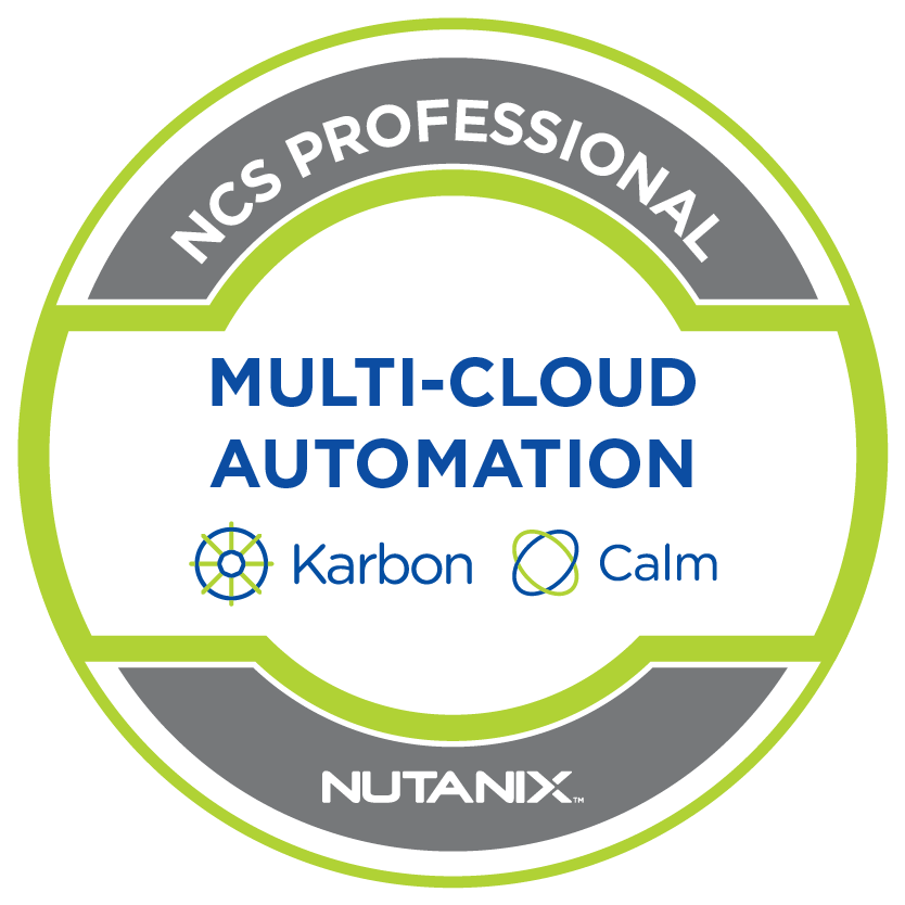 Nutanix Certified Services Multi-Cloud Automation Professional