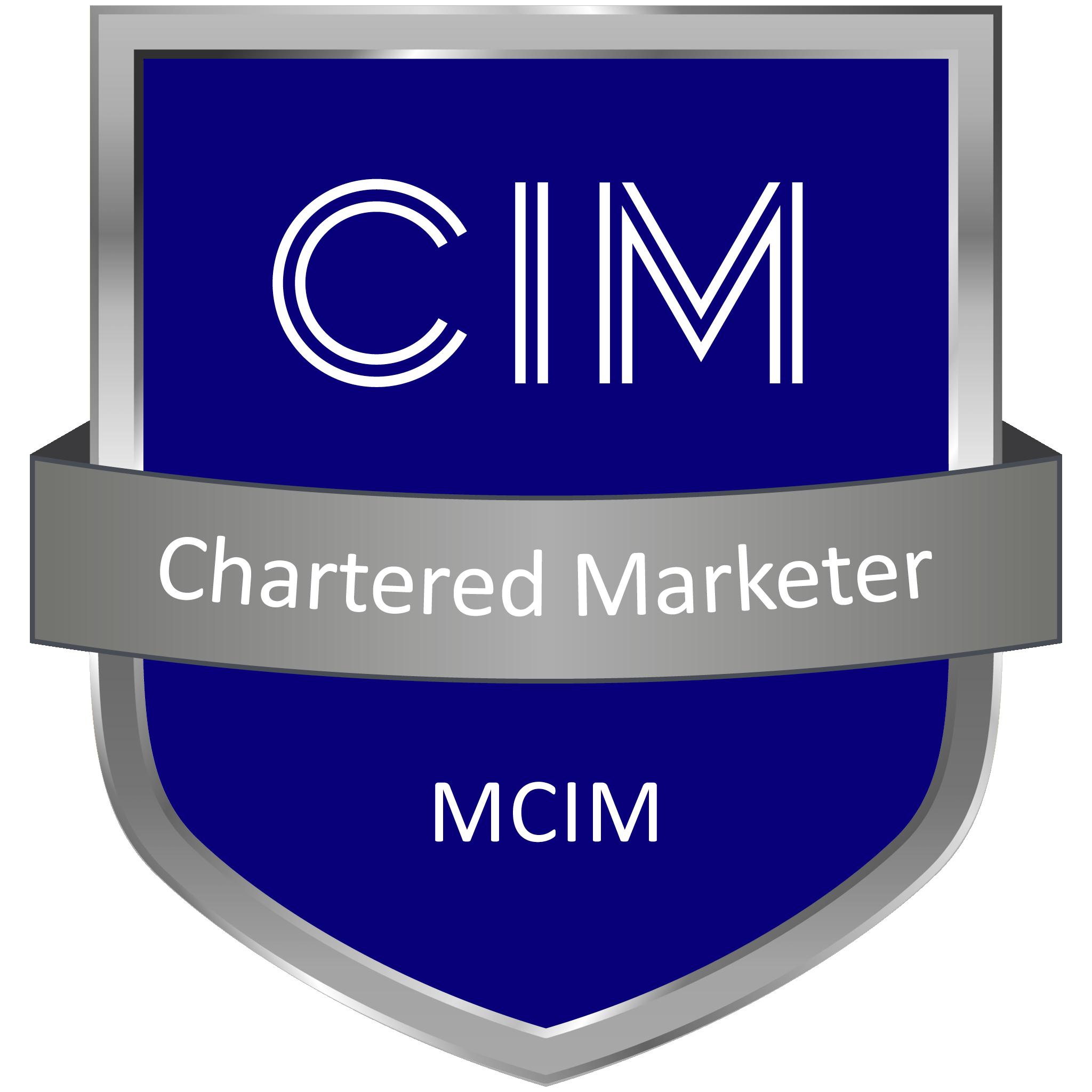 CIM Chartered Marketer MCIM Member