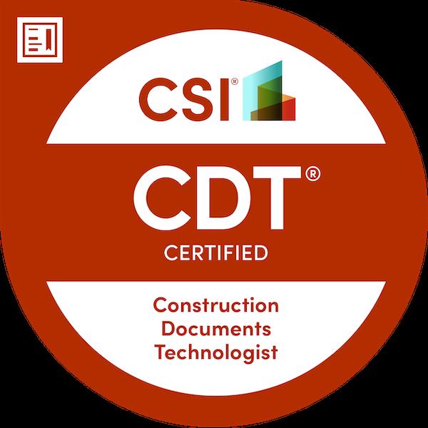 CSI Construction Documents Technologist (CDT®)