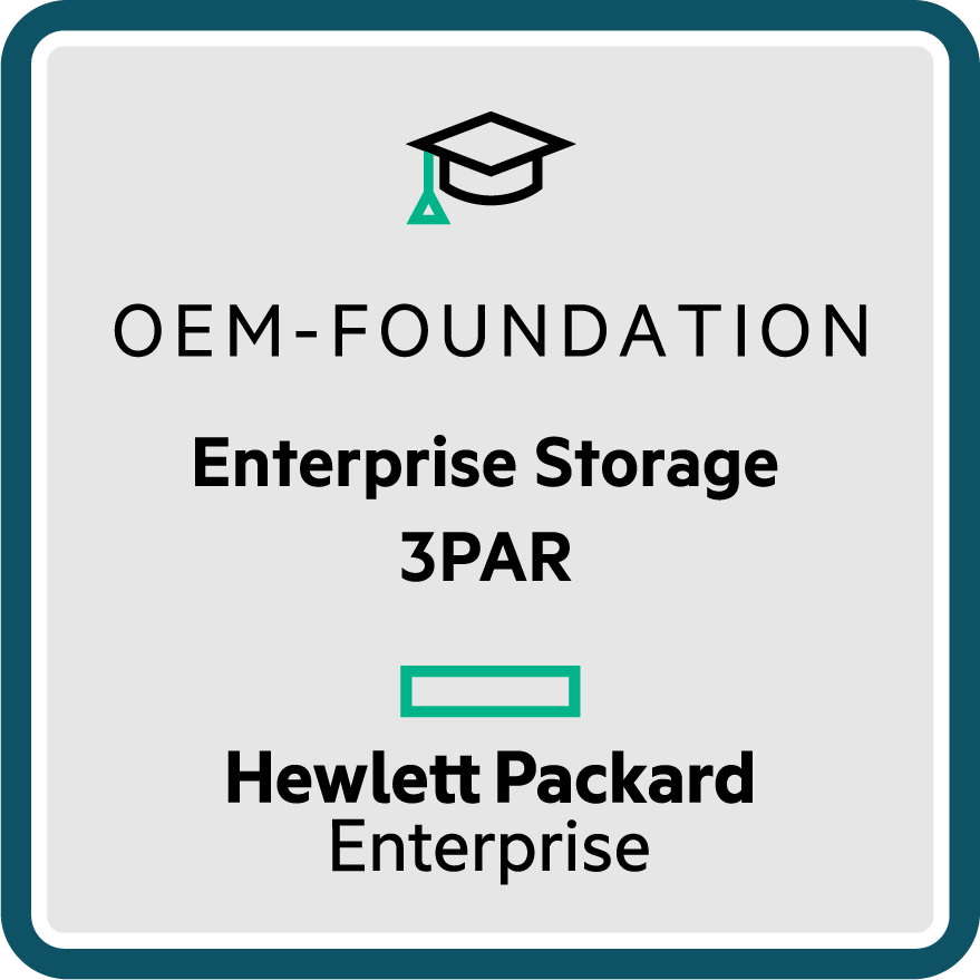 Enterprise Storage 3PAR - OEM Foundation