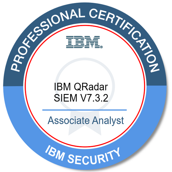 IBM Certified Associate Analyst - IBM QRadar SIEM V7.3.2