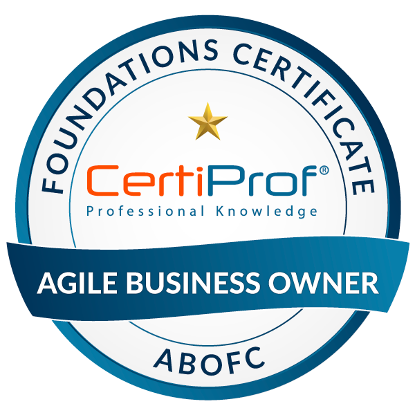 Agile Business Owner Foundations Certificate