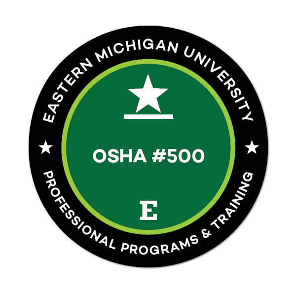 OSHA #500 Trainer Course in Occupational Safety and Health Standards for the Construction Industry