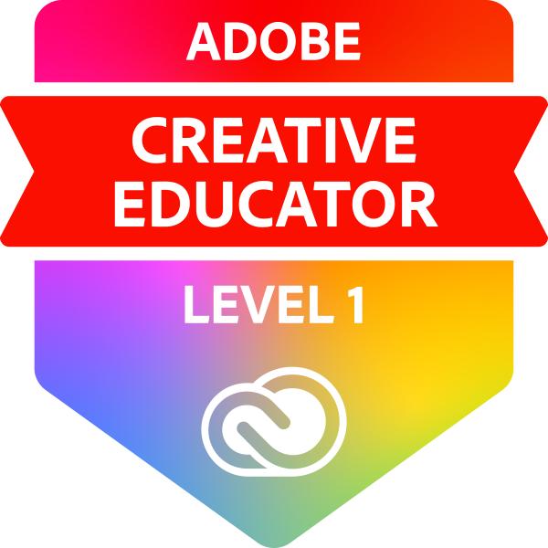 Adobe Creative Educator Level 1