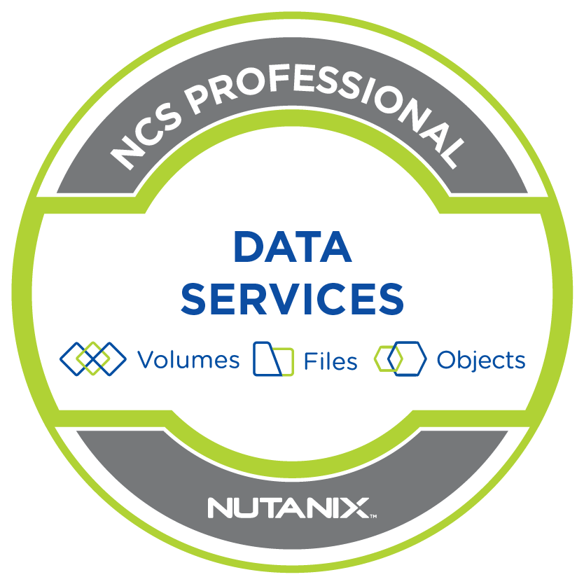 Nutanix Certified Services Data Services Professional