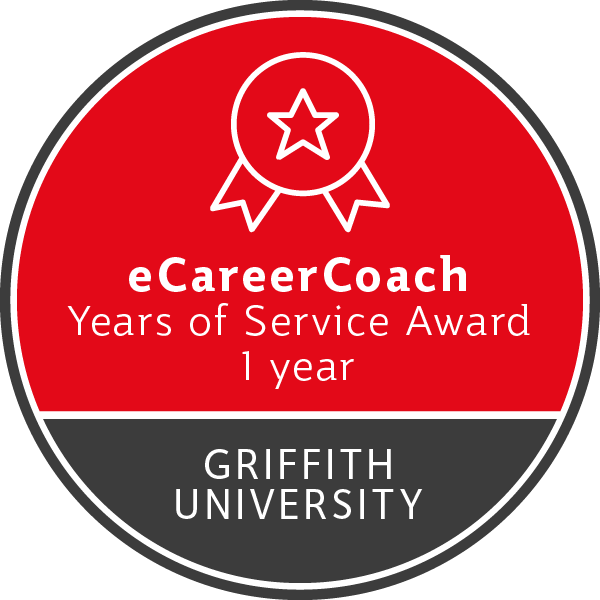 eCareerCoach - Years of Service Award (1 Year)