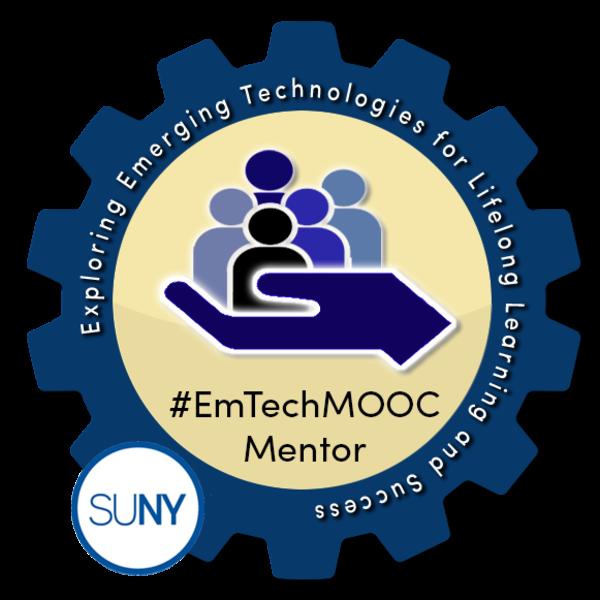 SUNY #EmTechMOOC Mentor