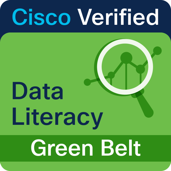 Data Literacy @Cisco Green Belt