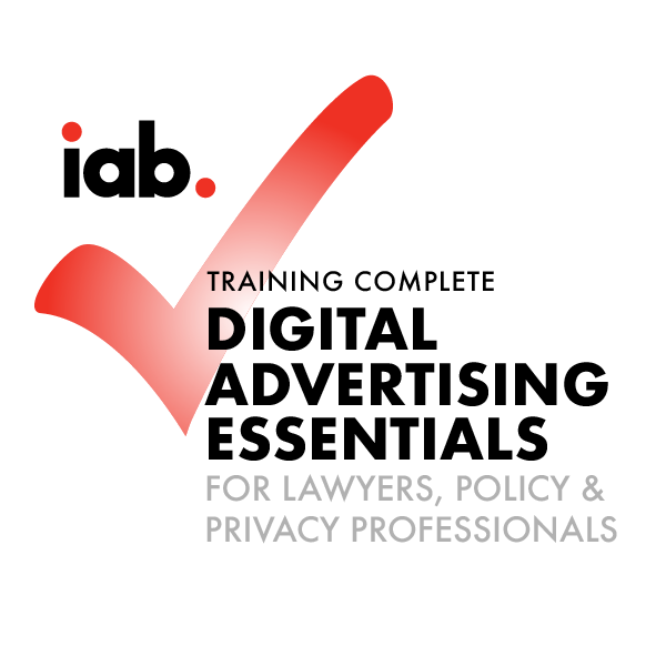 IAB Digital Advertising Essentials for Lawyers, Policy, & Privacy Professionals Course