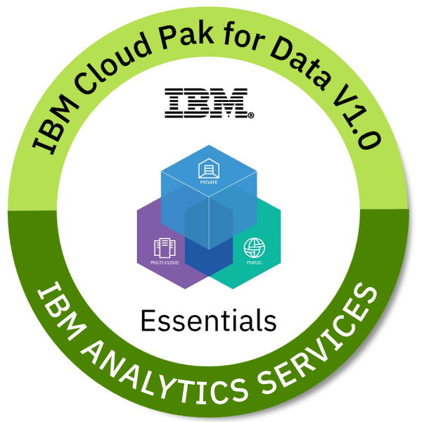 IBM Cloud Pak for Data V1.0 Essentials