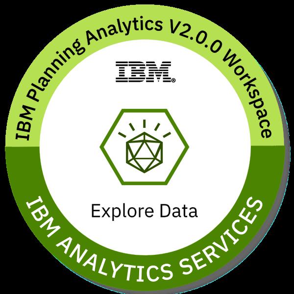 IBM Planning Analytics Workspace V2.0.0 Explore Data
