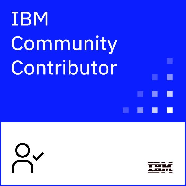 IBM Community Contributor