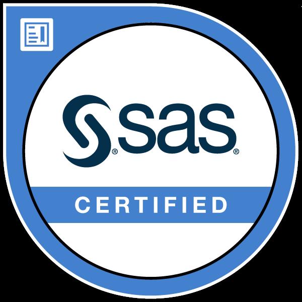 SAS Certified Specialist: Visual Business Analytics 7.5/8.3