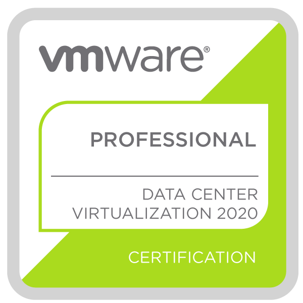 VMware Certified Professional - Data Center Virtualization 2020