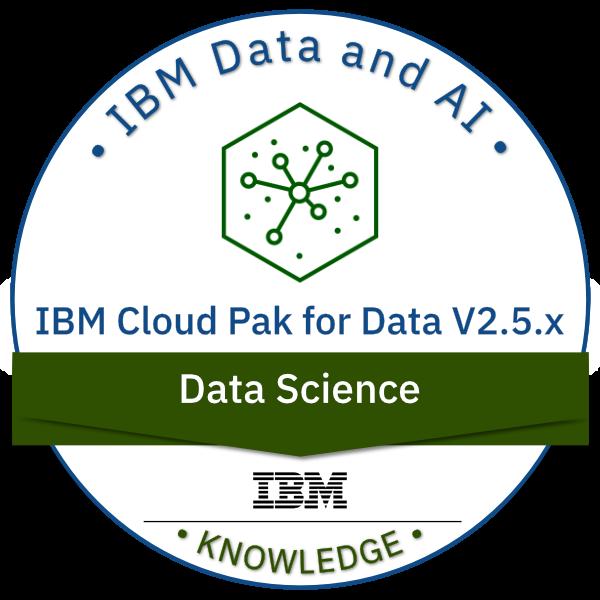 IBM Cloud Pak for Data V2.5.x Data Science