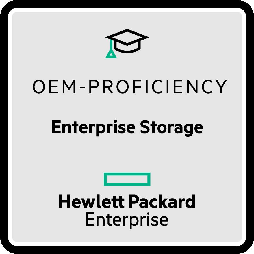 HPE Enterprise Storage - OEM Proficiency