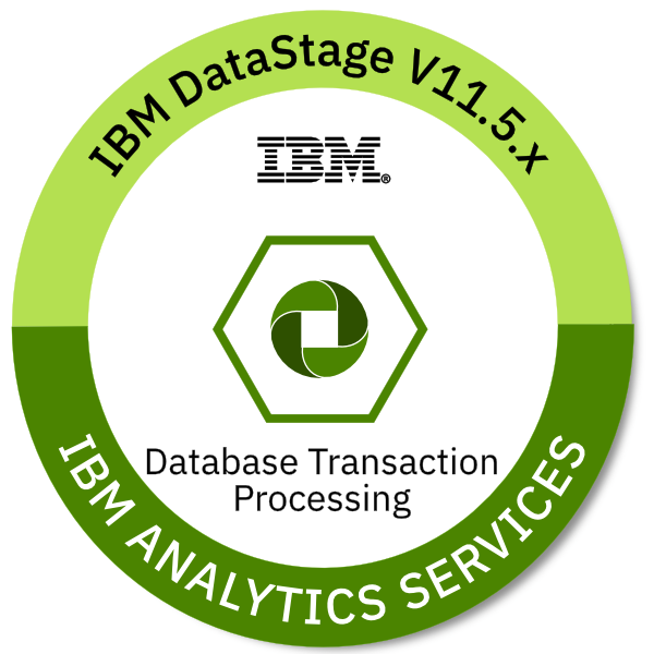 IBM DataStage V11.5.x Database Transaction Processing