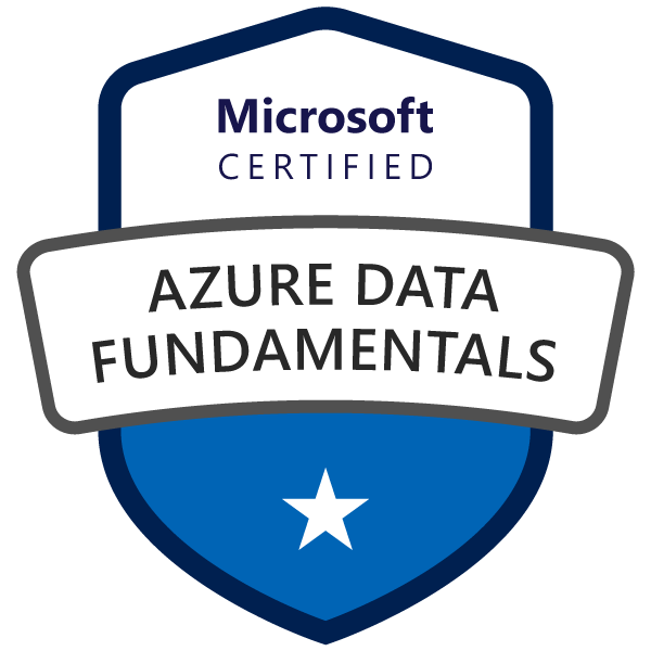 Microsoft Certified: Azure Data Fundamentals