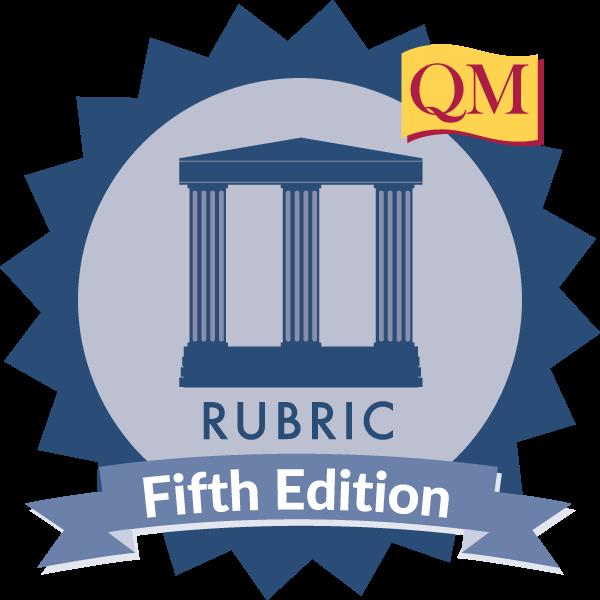 Applying the QM Rubric
