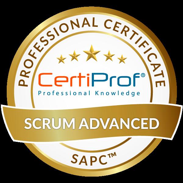 Scrum Advanced Professional Certificate -SAPC