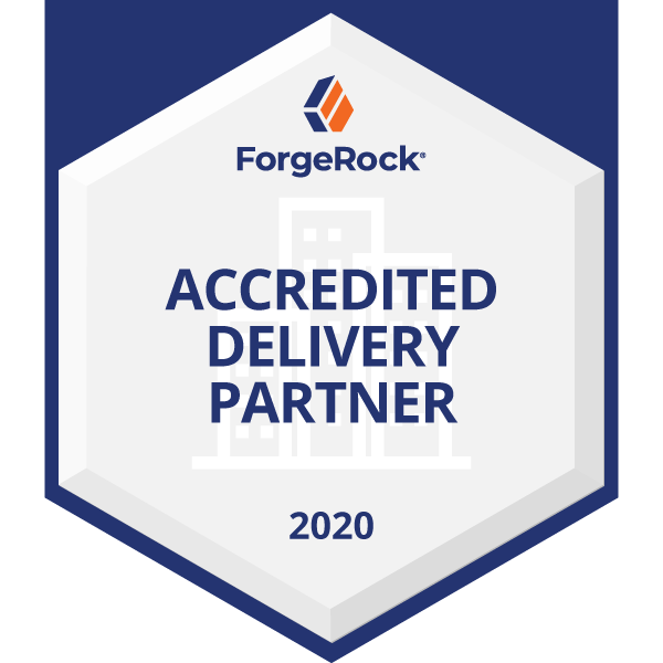 ForgeRock Accredited Delivery Partner (2020)