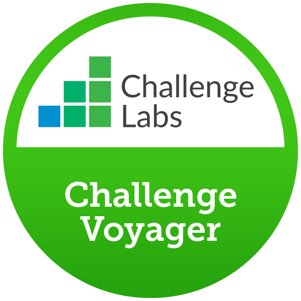 Challenge Voyager (15 hands-on labs completed)