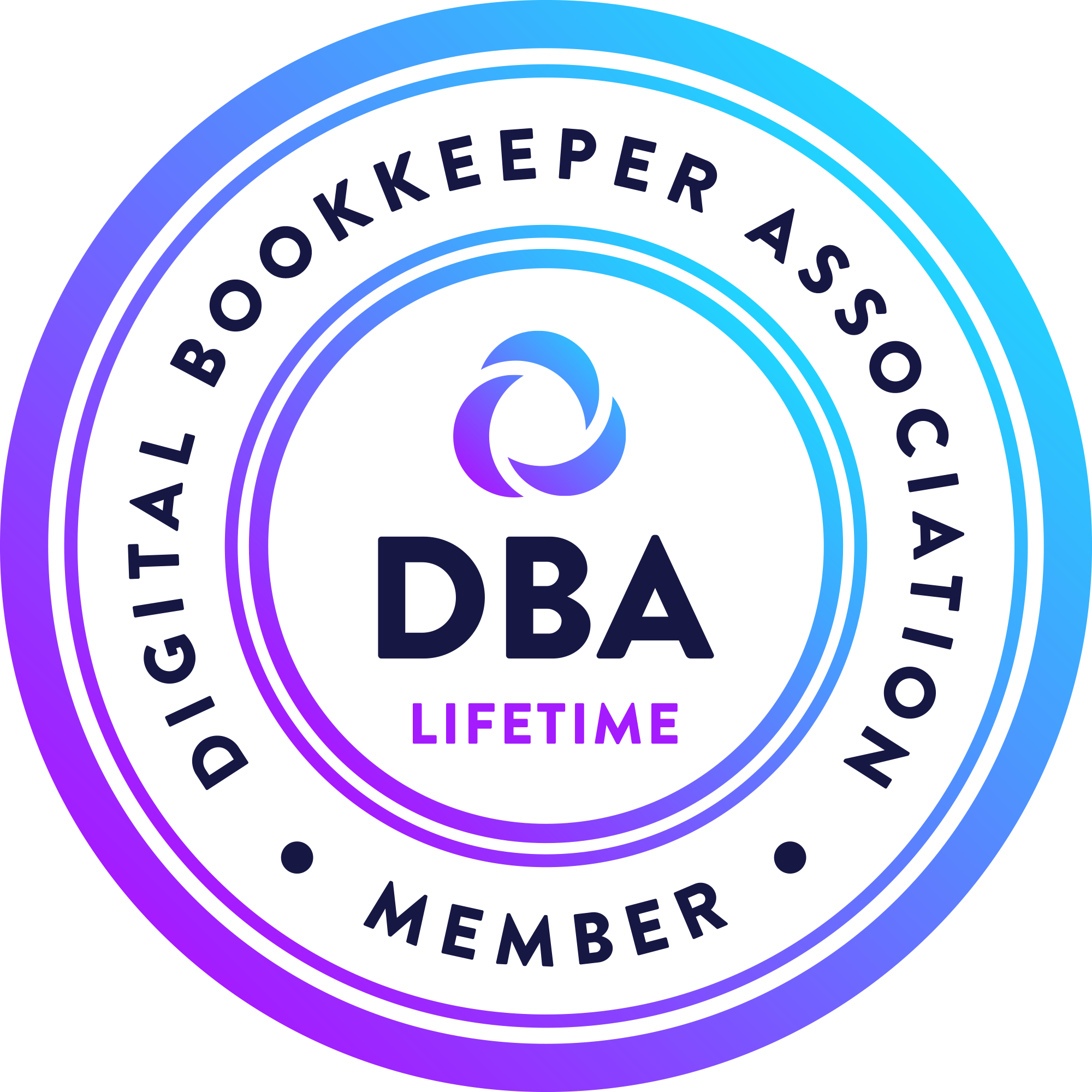 Digital Bookkeeper Association Lifetime Member