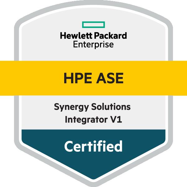 HPE ASE - Synergy Solutions Integrator V1