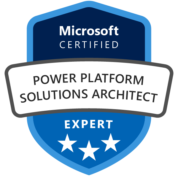 Microsoft Certified: Power Platform Solution Architect Expert
