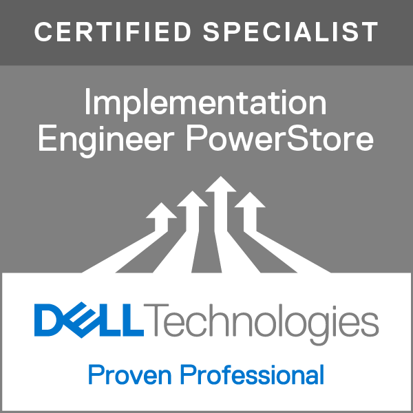 Specialist – Implementation Engineer, PowerStore Solutions Version 1.0