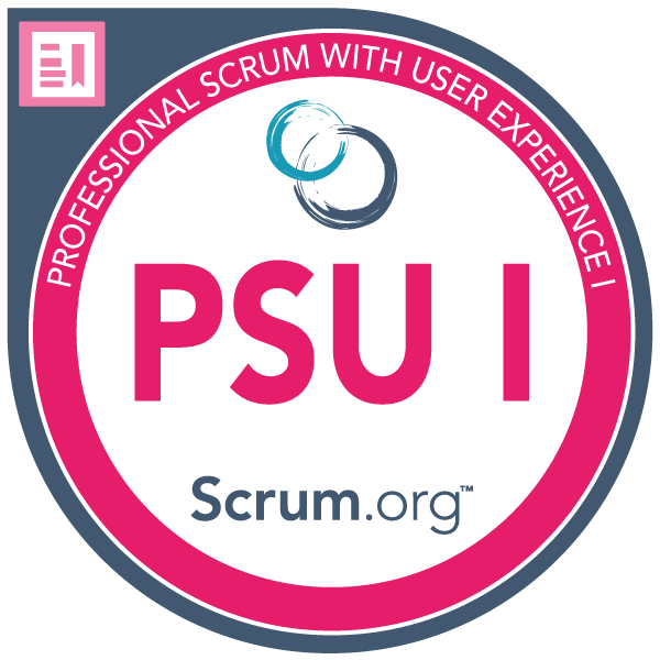 Professional Scrum™ with User Experience I (PSU I)