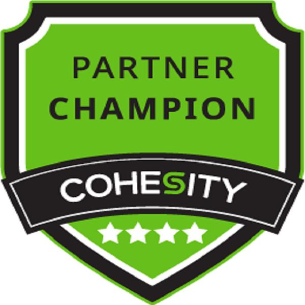 Cohesity Partner Champion – Level 4