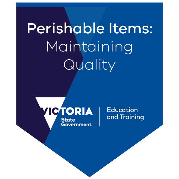 Introduction to maintaining the quality of perishable items