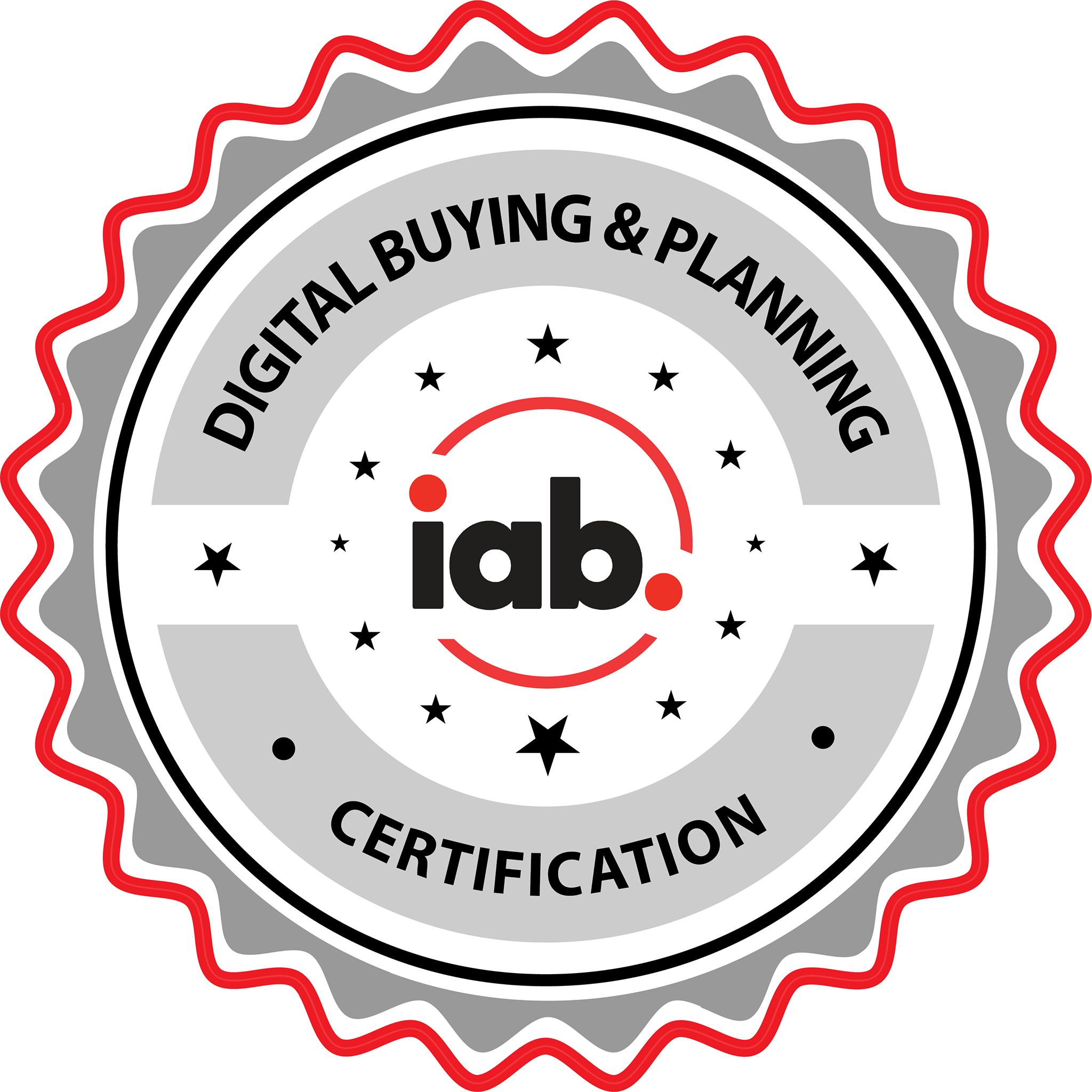 IAB Digital Media Buying & Planning Certification