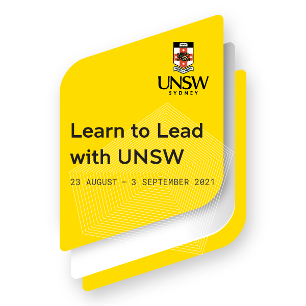 Learn to Lead with UNSW 2021