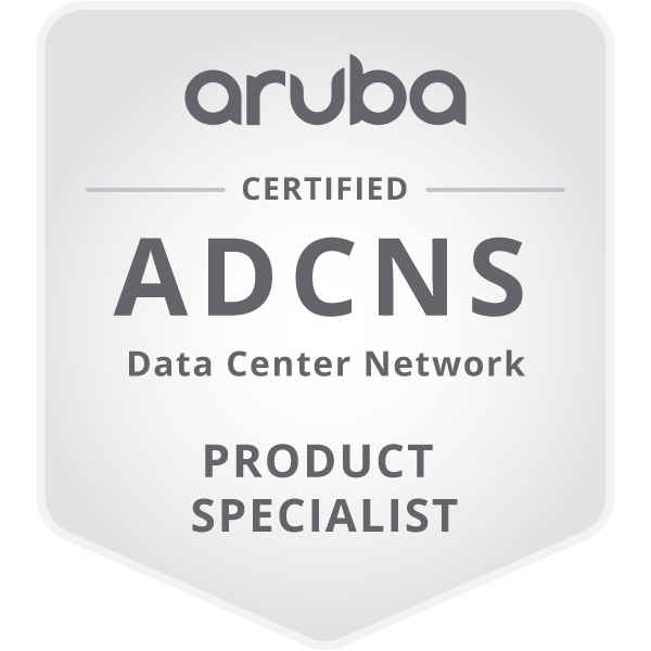 HPE Product Certified - Aruba Data Center Network Specialist