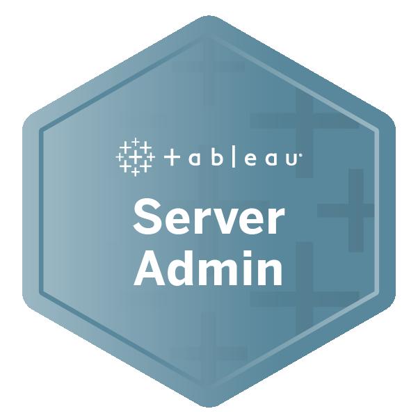 Tableau Server Administrator