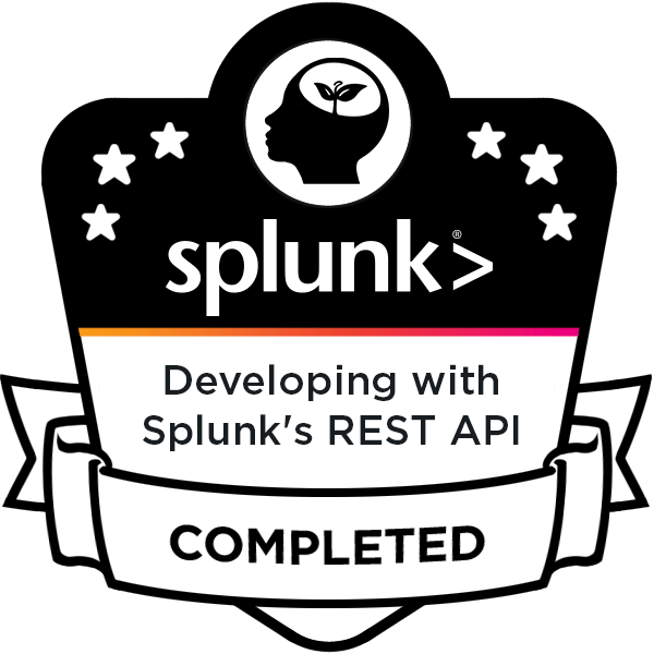 Developing with Splunk's REST API