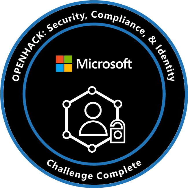 OpenHack: Security, Compliance, and Identity