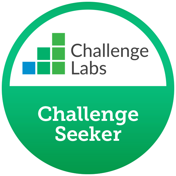 Challenge Seeker (5 hands-on labs completed)