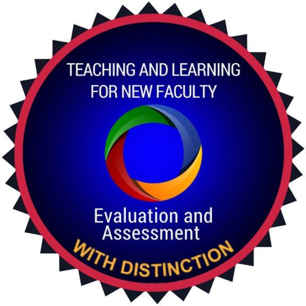 Evaluation and Assessment with Distinction