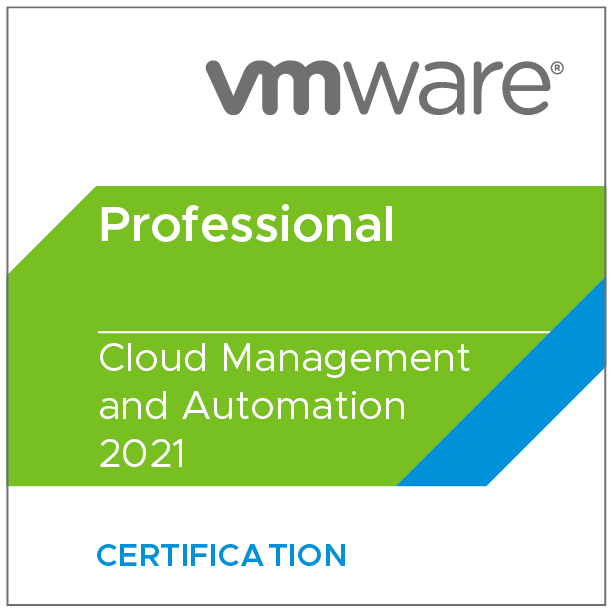 VMware Certified Professional - Cloud Management and Automation 2021