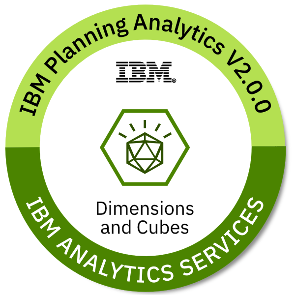IBM Planning Analytics V2.0.0 Dimensions and Cubes