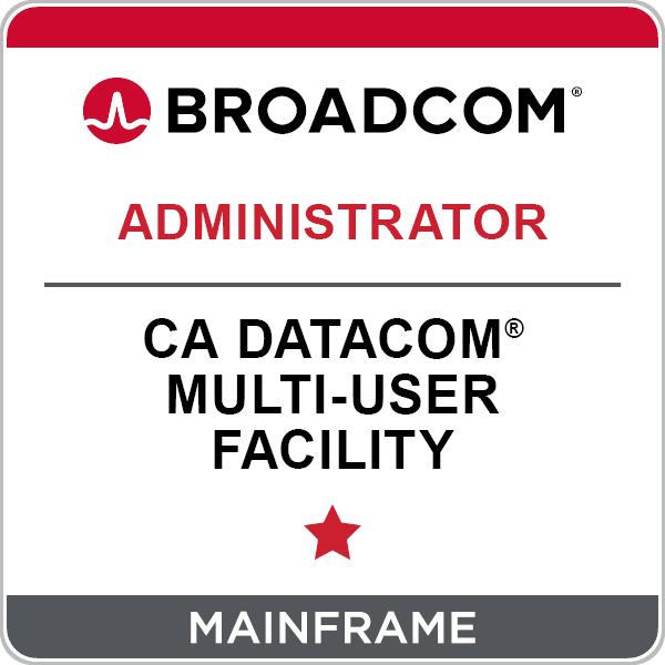 CA Datacom® Multi-User Facility - Administrator