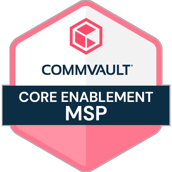 Commvault Core Enablement - MSP