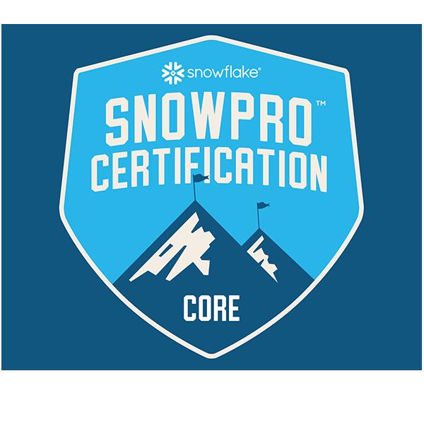 SnowPro Core Certification
